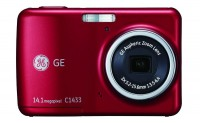 "General Imaging GE C1433 Compact Digital Camera Red (14.1MP, 3x Zoom, 2.4"" LCD) £48.59"