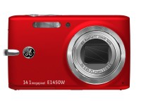 "General Imaging GE E1450W Compact Digital Camera Red (14.1MP, 5x Zoom, 2.7""LCD) £70.59"
