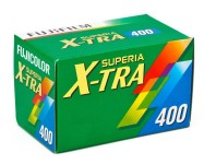 Fujifilm Superia X-TRA 400 35mm Film 24 Exp (3 Roll Pack) £11.99