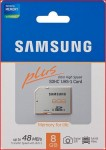 Samsung 8GB 48MB/s SDHC Plus UHS-1 Memory Card £7.26