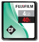 Fuji 4GB 40x CompactFlash Memory Card £7.91